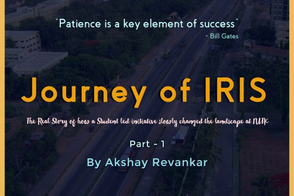 Journey of IRIS – Part 1