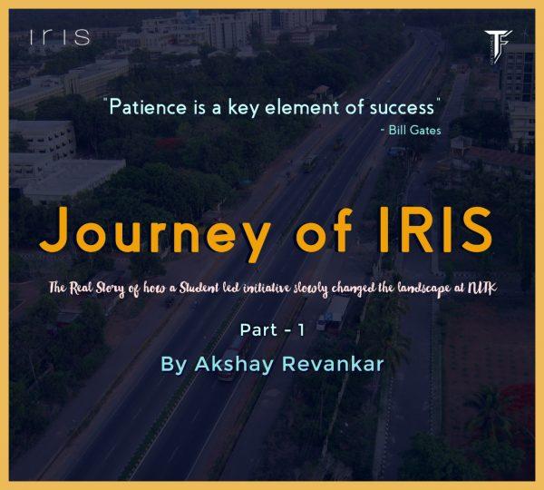 Journey of IRIS – Part 1