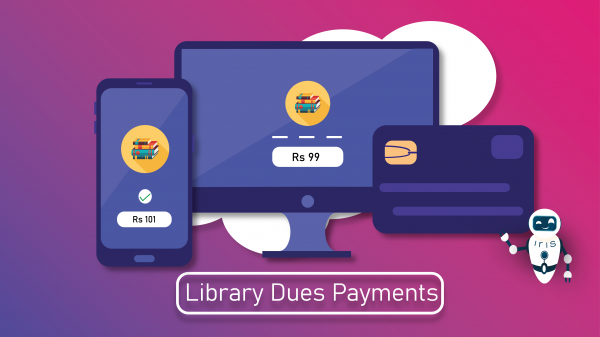 Library Dues Payment Module