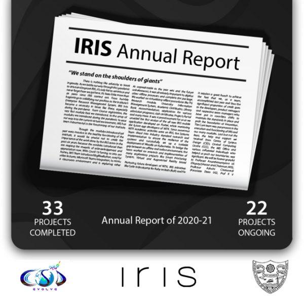 IRIS Annual Report 2020-2021